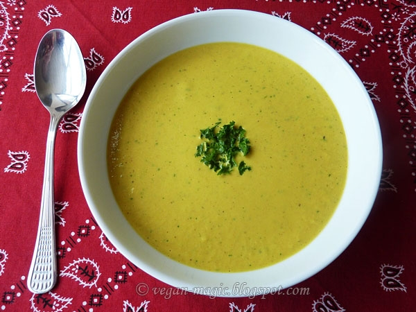 Creamy Chickpea Soup