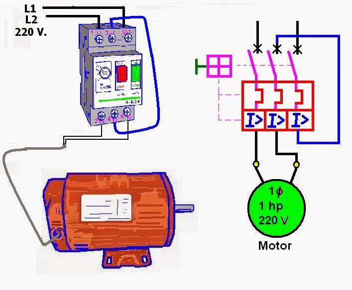 Diagrama Electrico De Motor Control on l293d circuit diagram