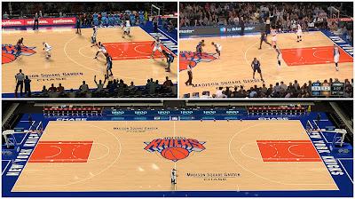 2K Real Knicks Court Design Mod