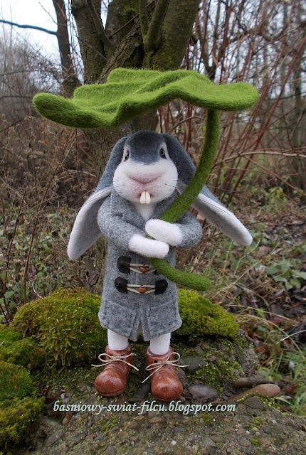 filcowy królik