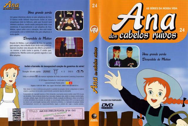 Ana dos Cabelos Ruivos Vol.1 A 25  PT-PT Ana+dos+Cabelos+Ruivos+-+Vol.24%28capa%29