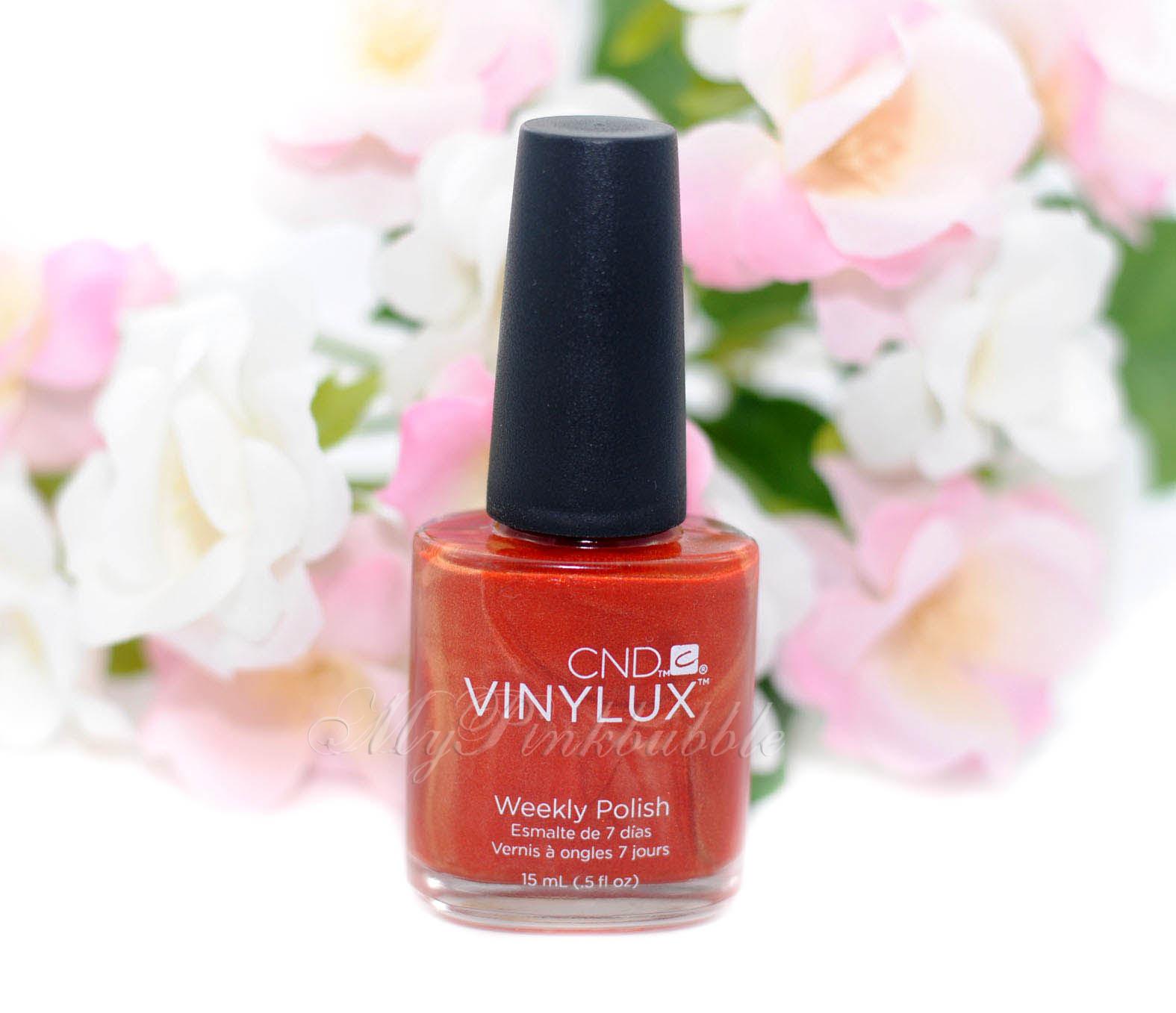 CND Vinylux Fine Vermillion 172