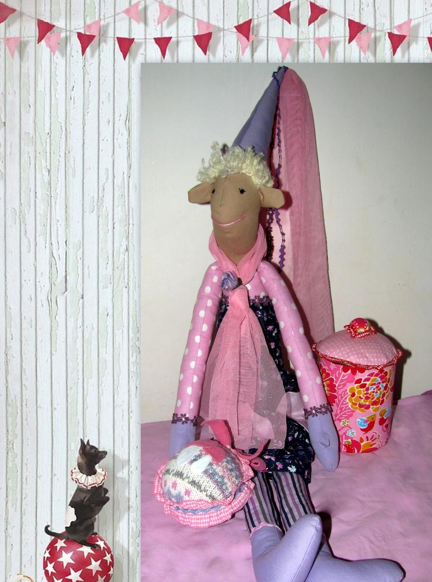 Różowa Skrzatka Pixie
