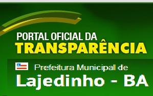 Portal da transparência de Lajedinho BA