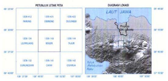 Informasi Tepi Pada Peta Topografi Terlengkap