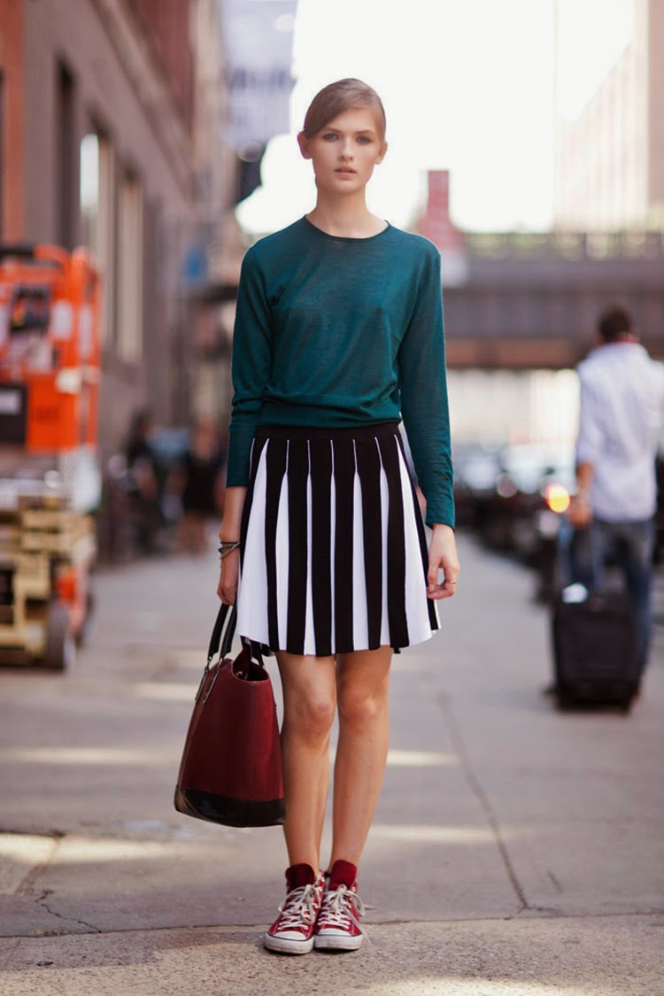 Lara Mullen Fun and Stlyish Ways of Wearing Converse Shoes