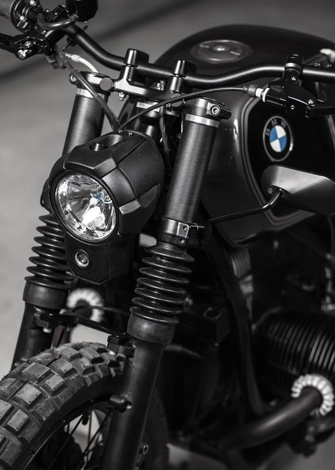 Motorcycle BMW R100R