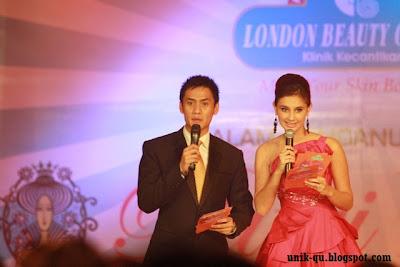 MC Choky Sitohang dan Vj Marissa