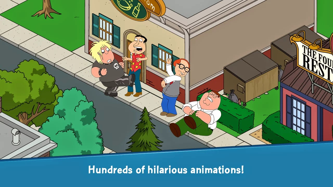 Family Guy The Quest for Stuff v1.3.4.1 Mod [Free Shopping]