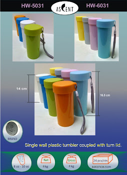 "CENTRUM LINK - ""ASCENT TUMBLER"" - HW-5031 & HW-6031"