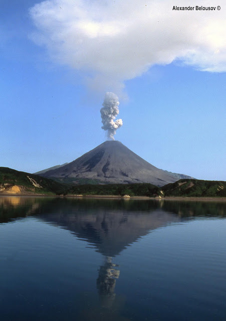 Karymsky - Giant Volcano in Russia, biggest volcano, only in russia