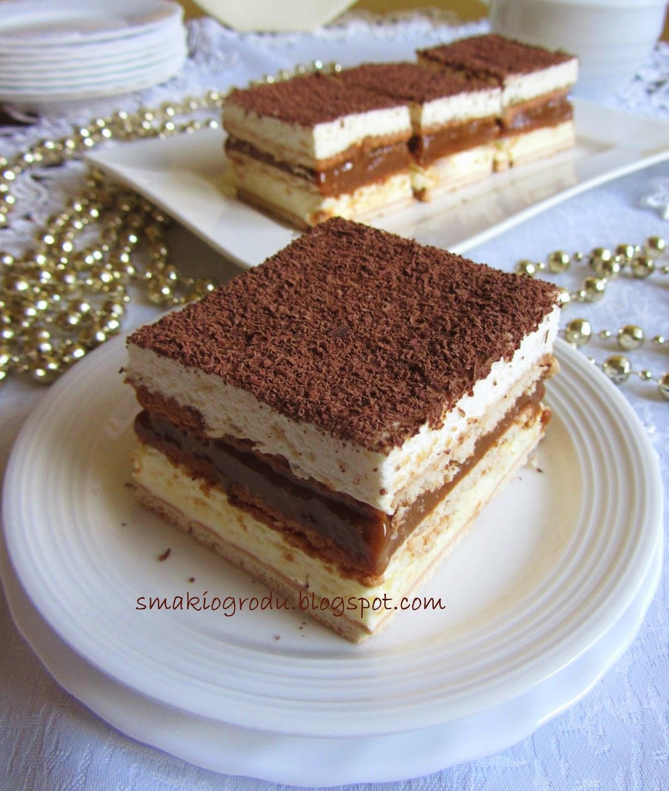 Smaki Ogrodu 3 Bit Ciasto Kajmakowe Bez Pieczenia