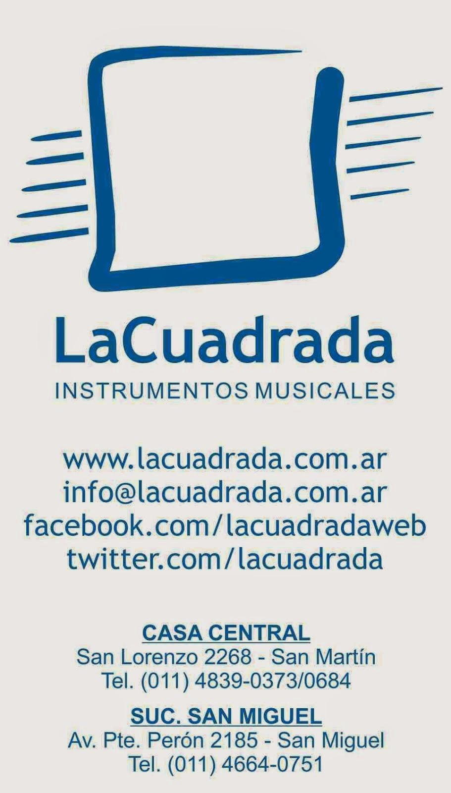 Instrumentos La Cuadrada