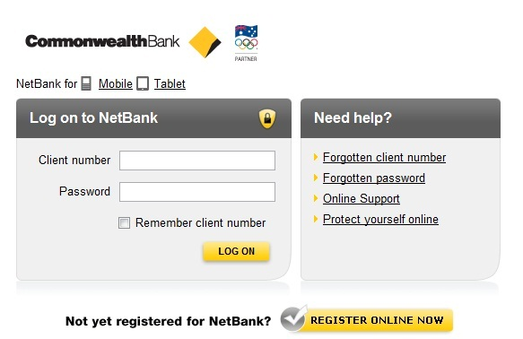 commbank login netbank