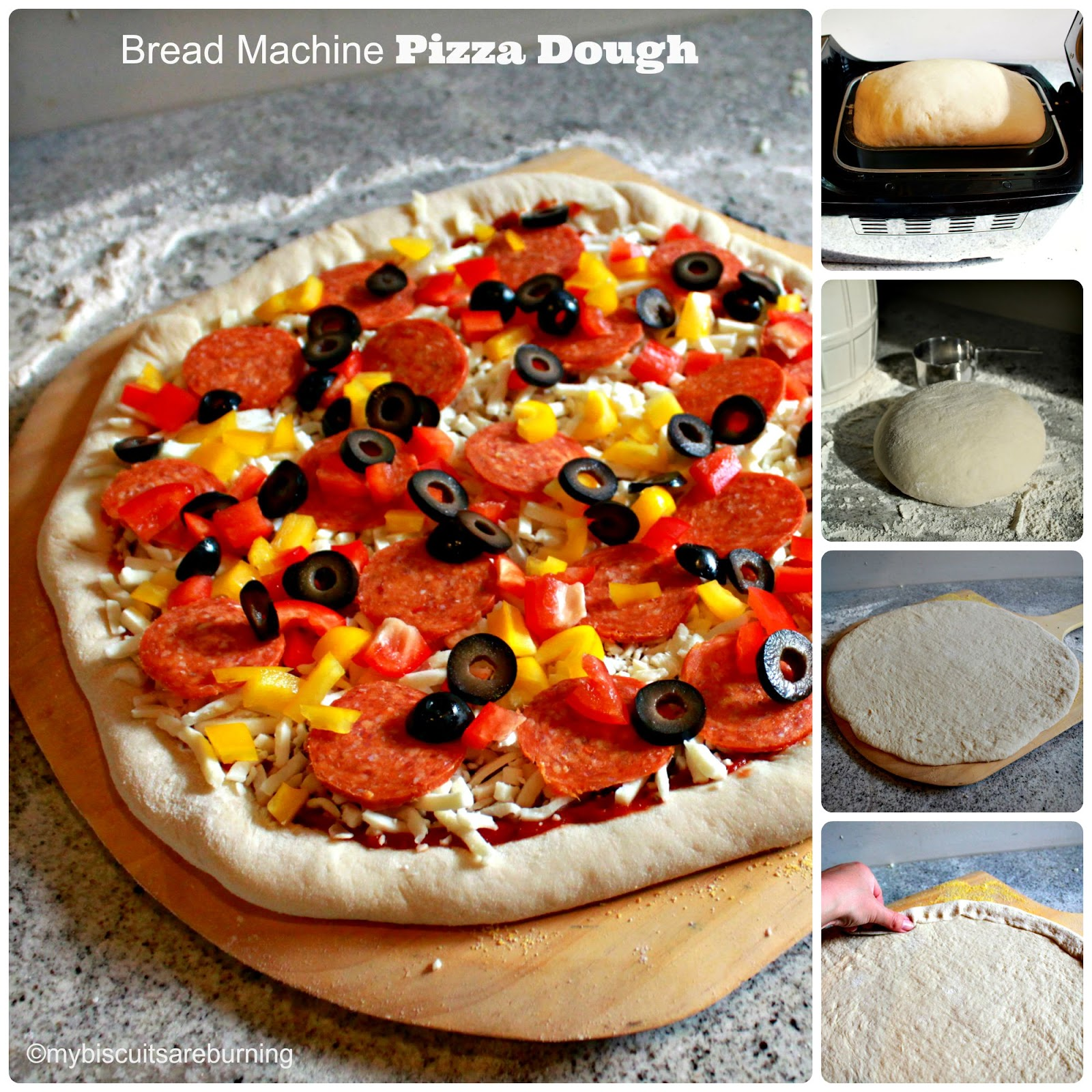 bread machine pizza dough my biscuits are burning