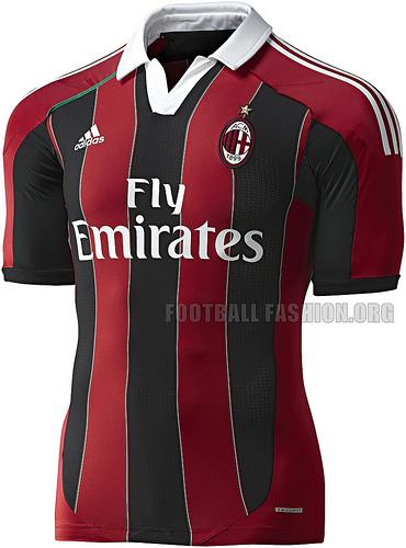 Camisas E Manias Extra Milan Home 2012 2013