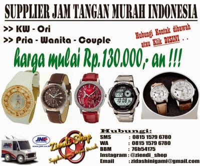 supplier Jam tangan murah ziendi shop