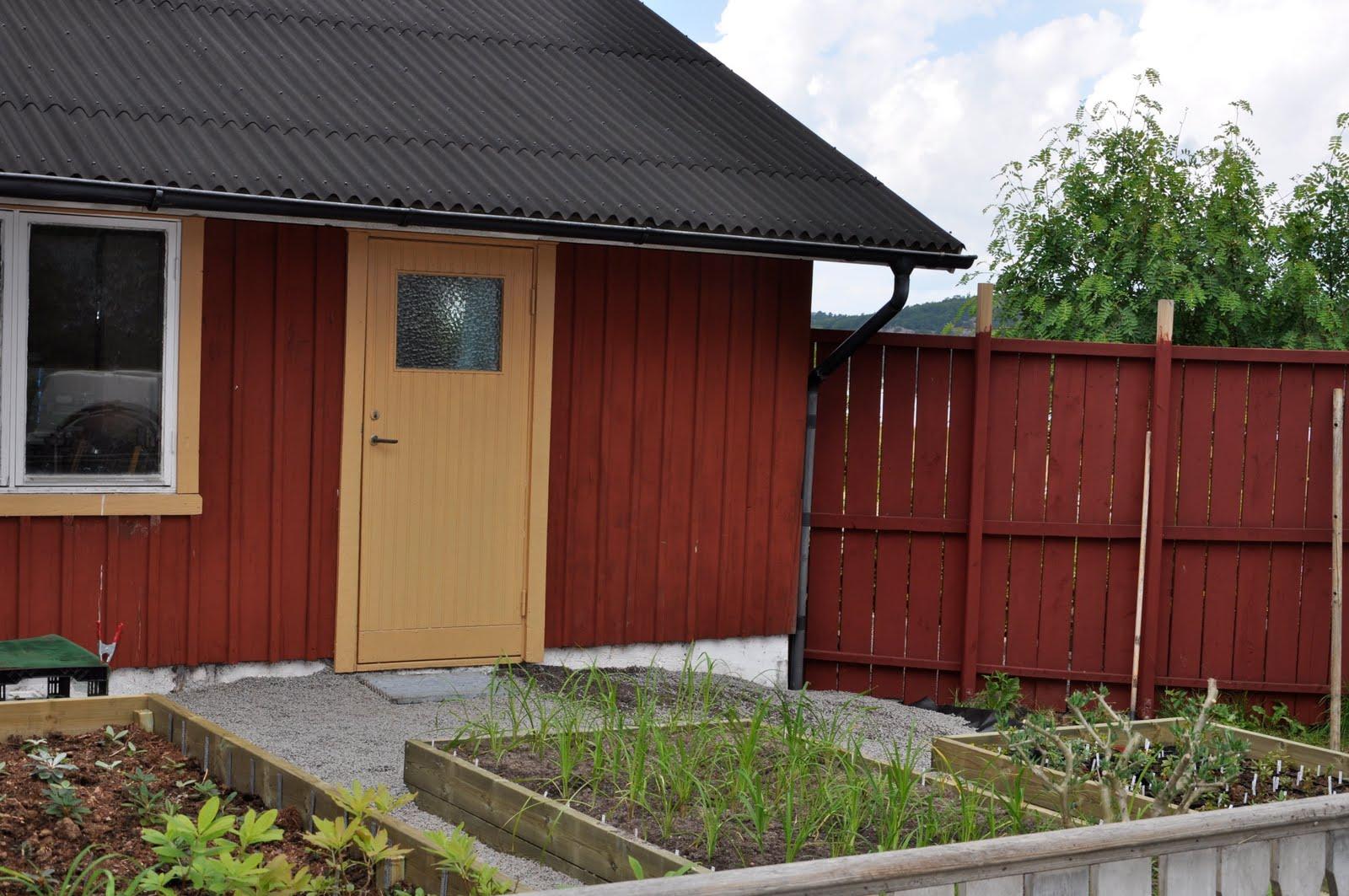 Trädgård plank trädgård : Alen TrädgÃ¥rd: Grusad plats!