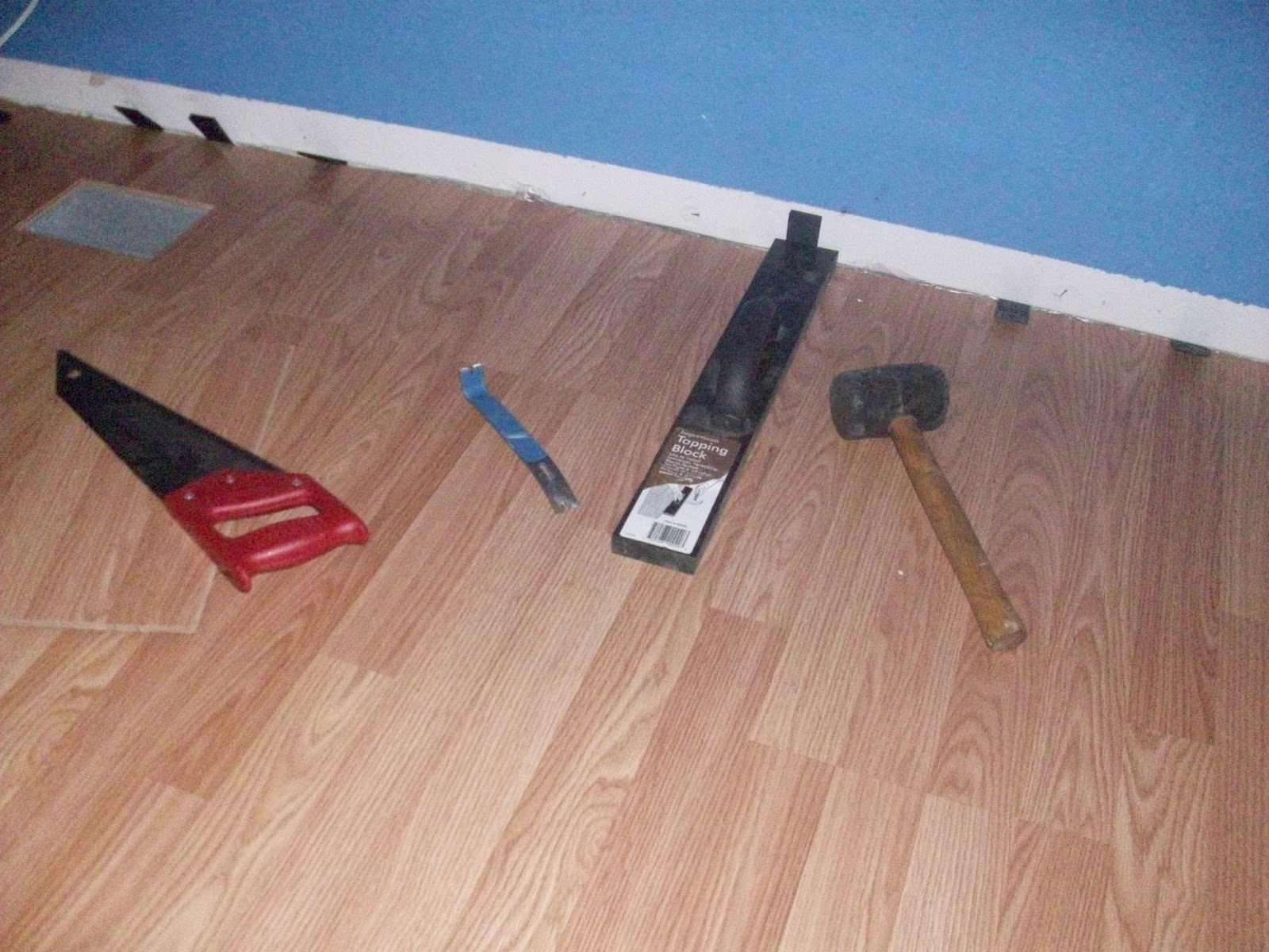 Bigfamiliesbigideas weekly victory do it yourself wood for Hard laminate flooring