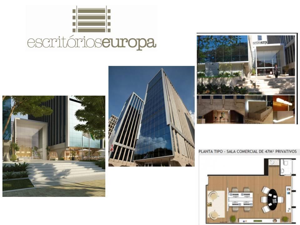 ESCRITÓRIOS EUROPA - SALA COMERCIAL DE 46 M² Á VENDA