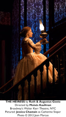 The Heiress (Jessica Chastain and Dan Stevens) Opened on Broadway on Nov. 1st