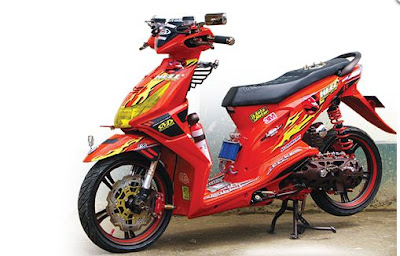 motor modifikasi honda beat