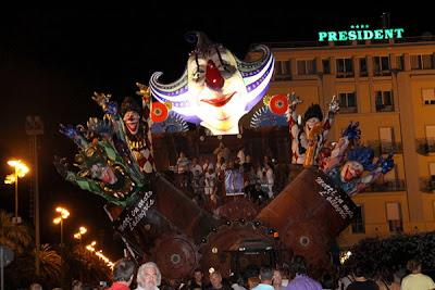 Carneval estivo Viareggio