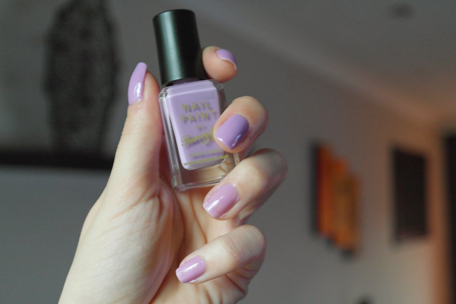 Barry M Berry Ice Cream nail paint