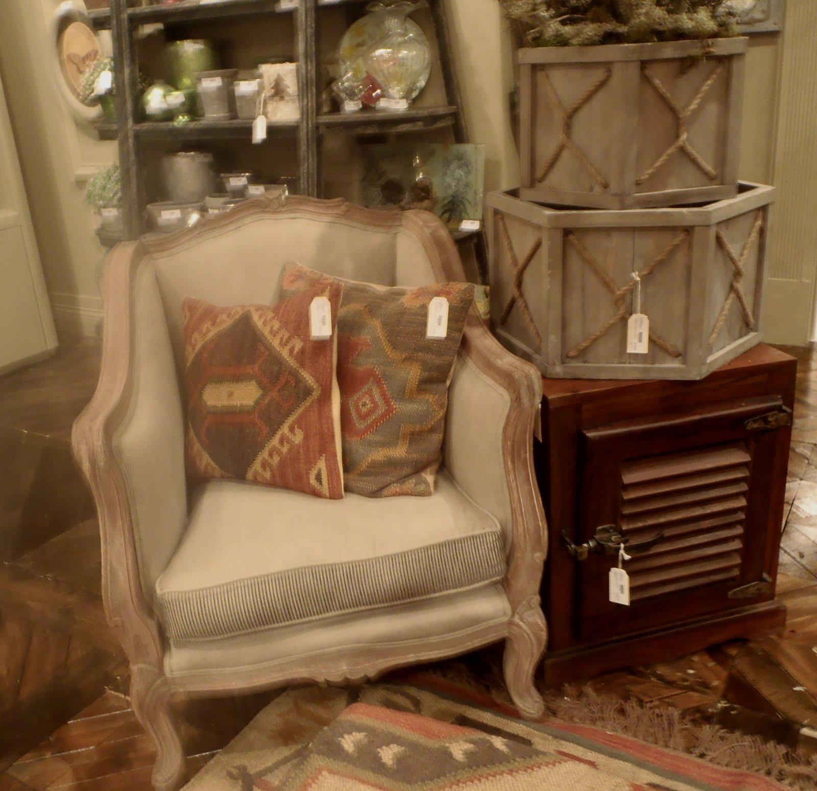 Teaming Of The Moroccan Kilim With The Linen Sofa. The Warm Earth Tones In  The Different Patterns On The Pillows Ottomans And Rug Do Not Fight With  Each ...