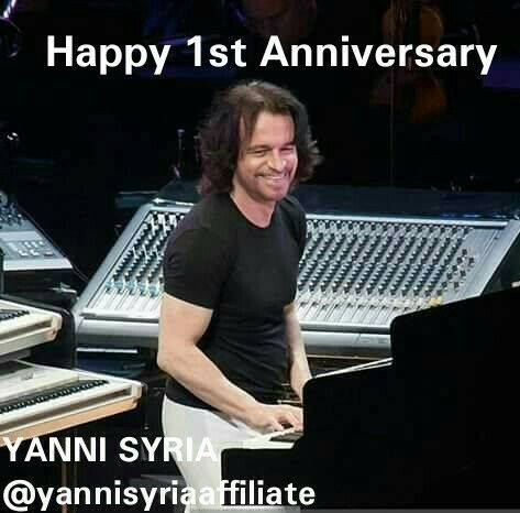 1st Anniversay of Yanni Syria