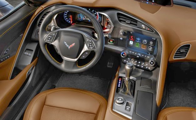 New Chevrolet Corvette Stingray Concept Interior