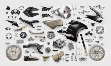 Bahan Material Ducati Superleggera 1199