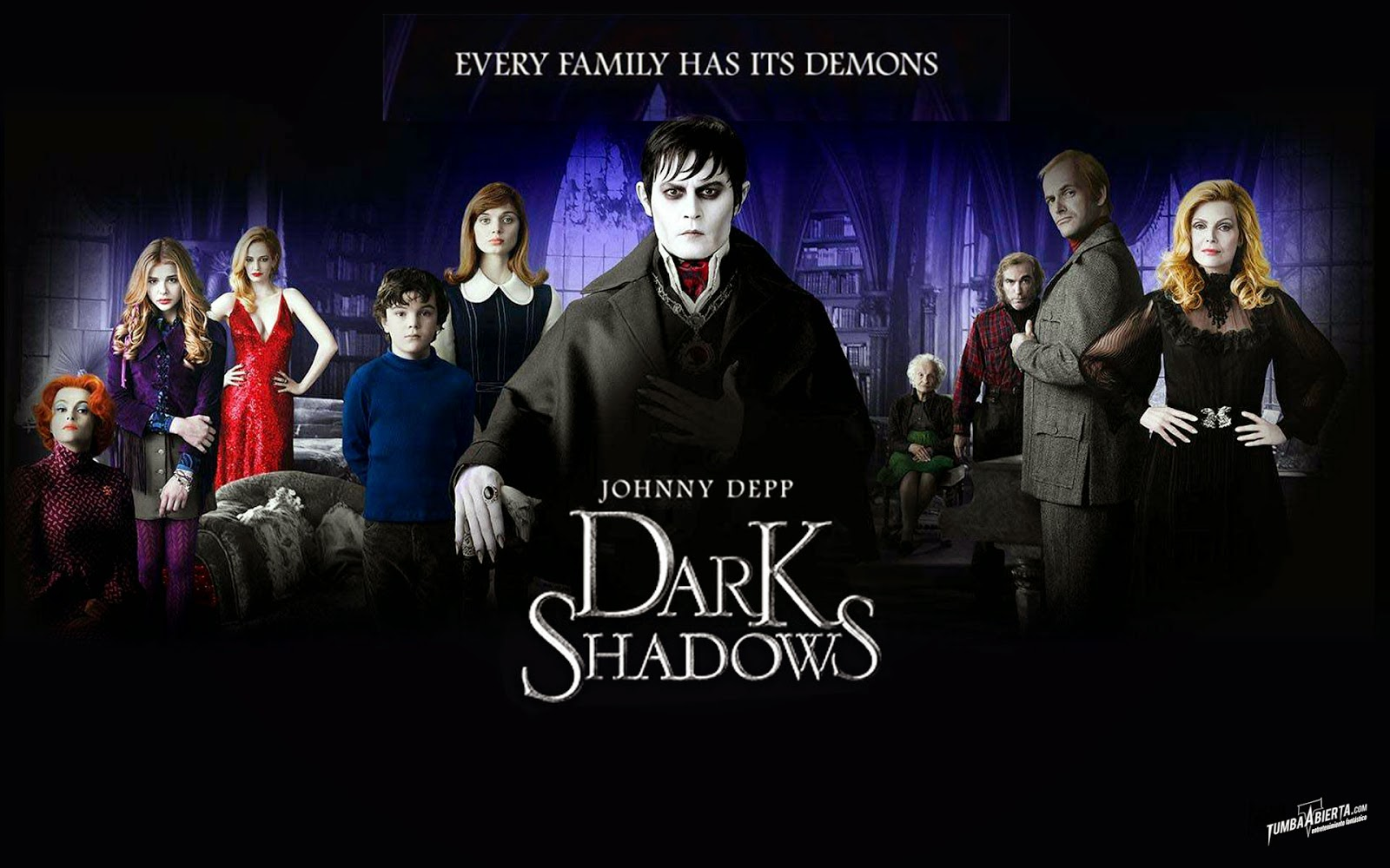 World Horror Film : Watch Dark Shadows (2012) online,Jonny Deep