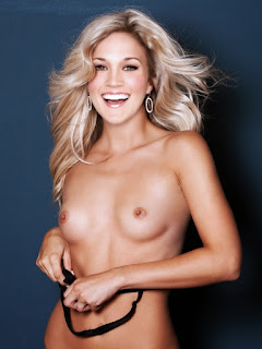 Topless Carrie Underwood Tits Exposed