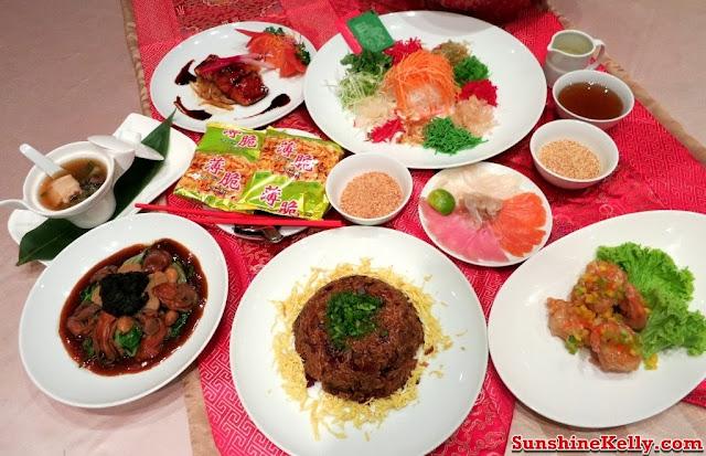Chinese New Year Menu, Four Season Prosperity Yee Sang, Tai Zi Heen Restaurant, Prince Hotel & Residence KL, yee sang, lou sang dinner