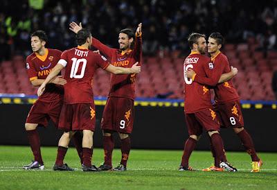 Napoli 1 - 3 AS Roma (3)