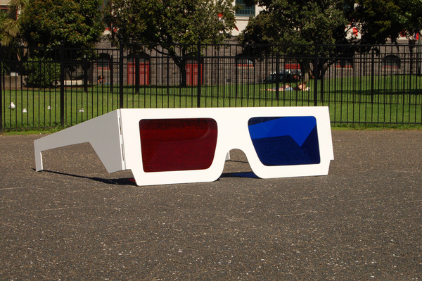 Large 3D Glasses