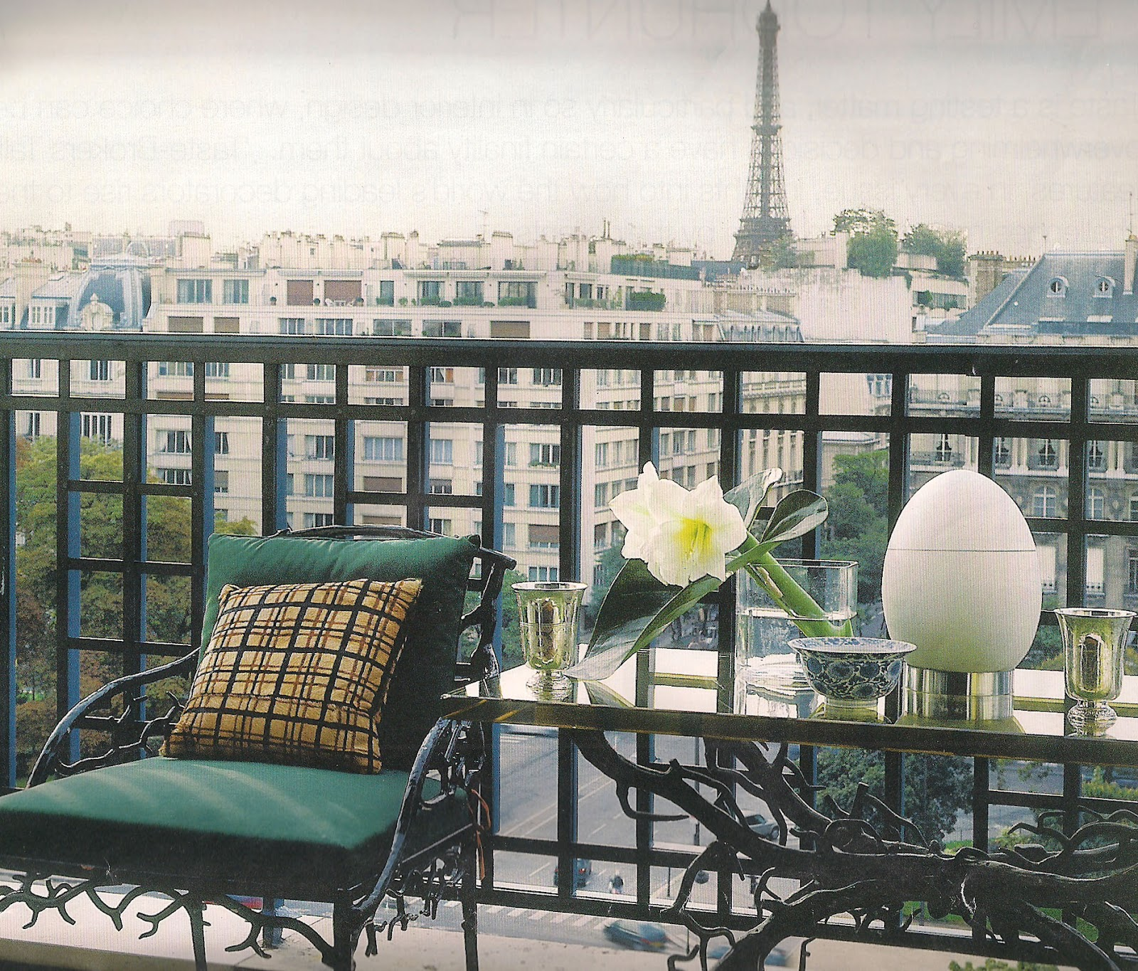 The Devoted Classicist: Furnishings From The Paris