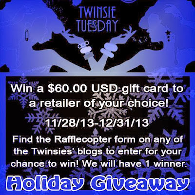 Twinsie Holiday Giveaway! (CLOSED)