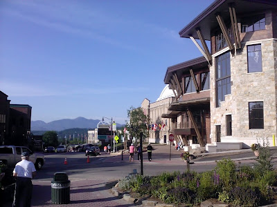 Pre-race registration for the Lake Placid marathon and half marathon is in the new convention center, adjacent to the Olympic Arena and speed skating oval.     The Saratoga Skier and Hiker, first-hand accounts of adventures in the Adirondacks and beyond, and Gore Mountain ski blog.