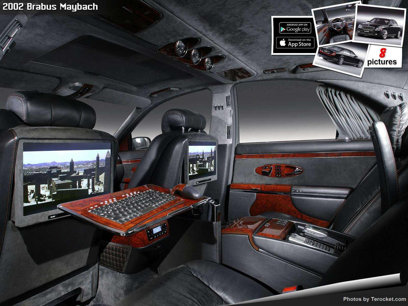 Hình ảnh xe ô tô Brabus Maybach 2002 & nội ngoại thất