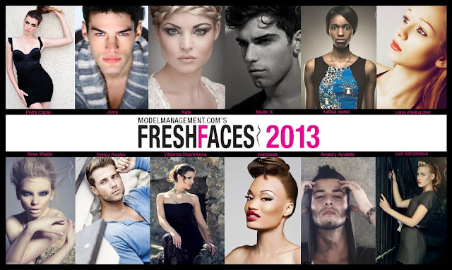 FRESH FACES 2013 MODEL MANAGEMENT