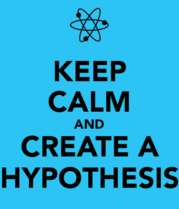 how to answer a question in hypothesis form