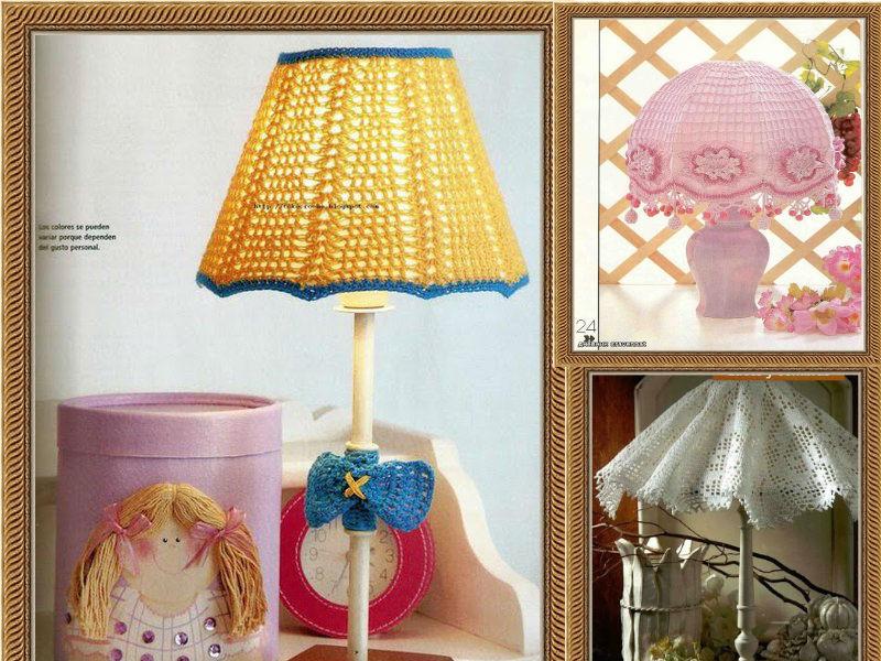 Delicadezas en crochet gabriela decoraci n del hogar 3 for Decoracion hogar a crochet