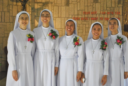 First Profession Of Our Sisters In The PDDM Province Phillipines Taiwan Hong Kong