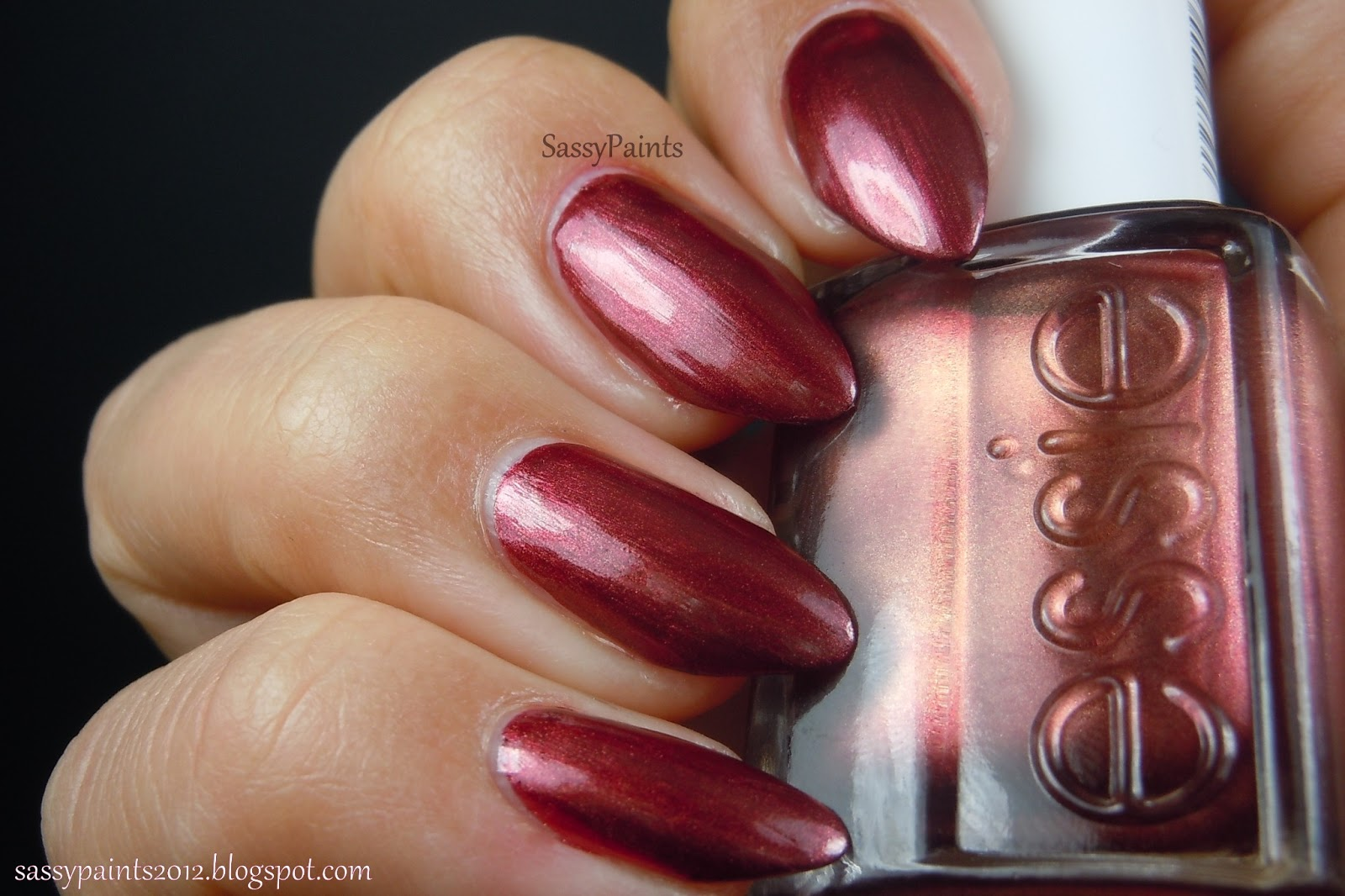 Sassy Paints: Try It On Tuesday: Essie Wrapped In Rubies & Sally ...