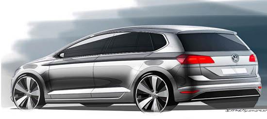 Burlappcar All New 2014 Vw Golf Sportsvan