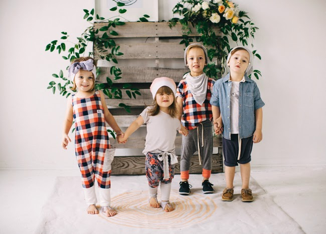 Kindred OAK Spring 2015 - handmade kids fashion collection