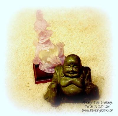 Quan Yin and Buddha Statues