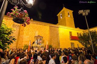 Antel la Iglesia Santiago Apóstol.